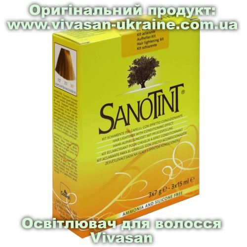 Освітлювач для волосся серії СаноТінт / SanoTint Vivasan