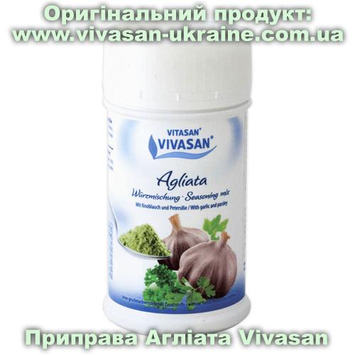 Приправа-мікс Агліата / Agliata (часникова) Vivasan