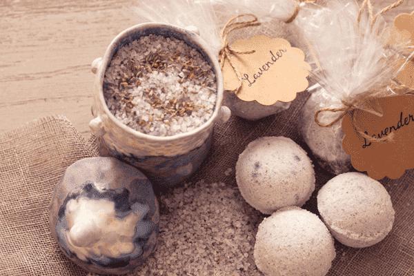 Бомбочки для ванны с эфирными маслами