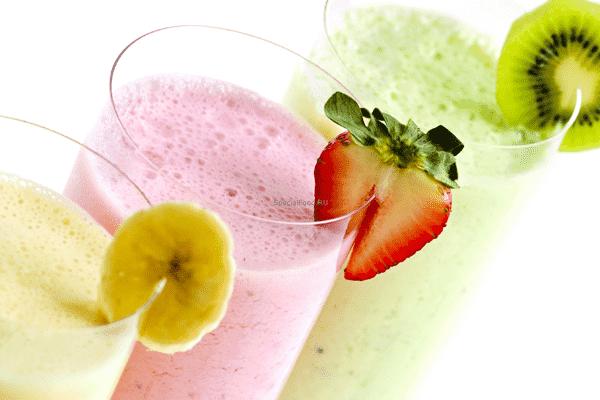 Общеукрепляющие витаминные коктейли