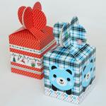 Коробка подарочная самосборная маленькая