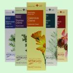 Ассортимент натуральных лечебных кремов Vivasan, Швейцария