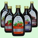 Ассортимент натуральных мультивитаминных напитков Vivasan, Швейцария